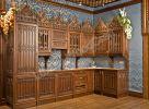 Кухня в готическом стиле 1