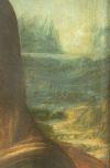 Фрагмент картина Мона Лиза 2