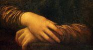 Фрагмент картина Мона Лиза 1