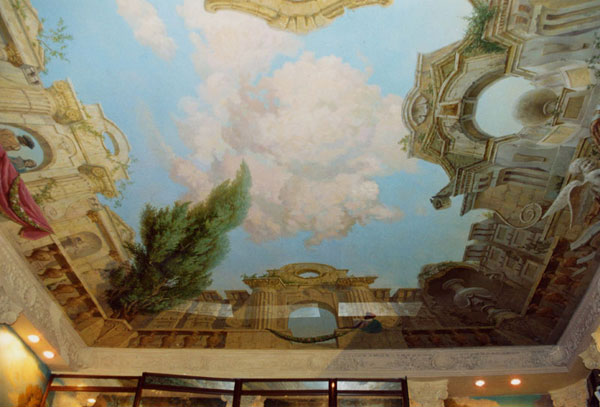 Интерьер в стиле барокко 2
