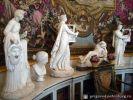 Скульптуры в интерьере Будуара императрицы