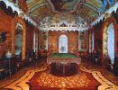 Живописные падуги и потолок, декорированные орнаментом