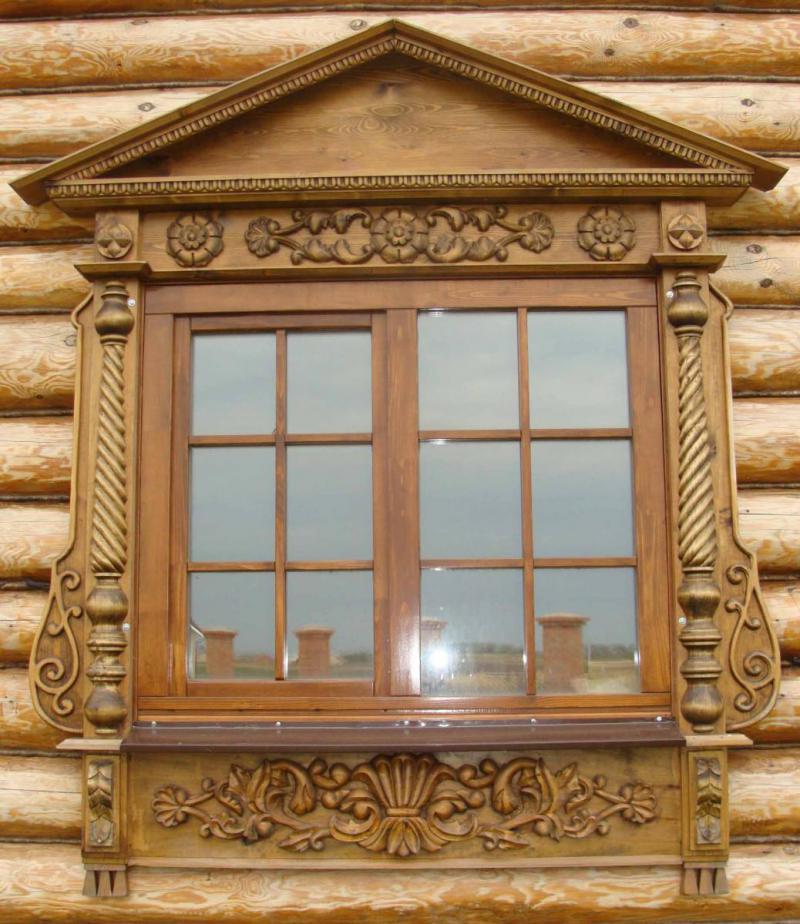 Колодезные домиОткосы на окна в деревянном доЛестница
