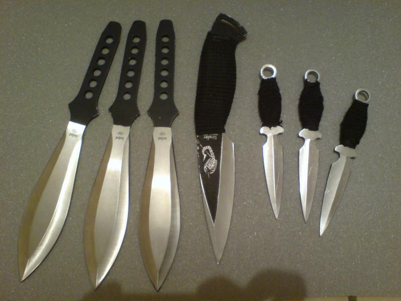 Ножи для метания своими руками 67