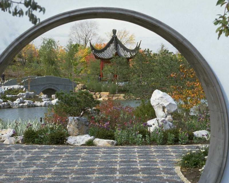 Китайский ландшафтный дизайн фэн шуй