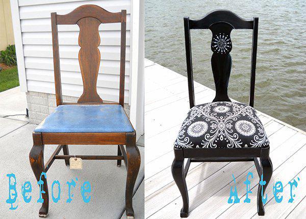 Как отремонтировать деревянный стул своими руками