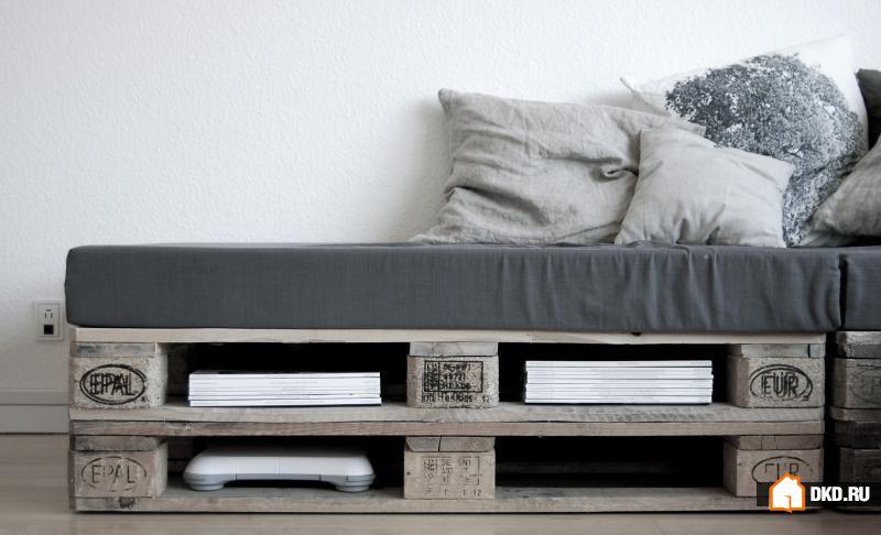 27 Cамых оригинальных способов превратить старые поддоны в красивую наружную мебель