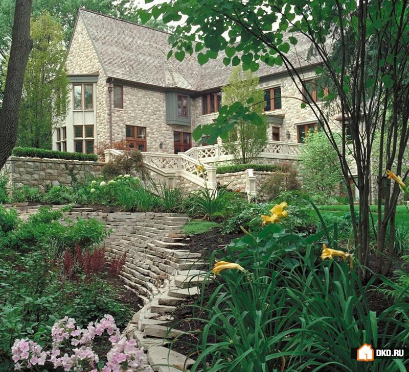 Дизайн садов на террасах