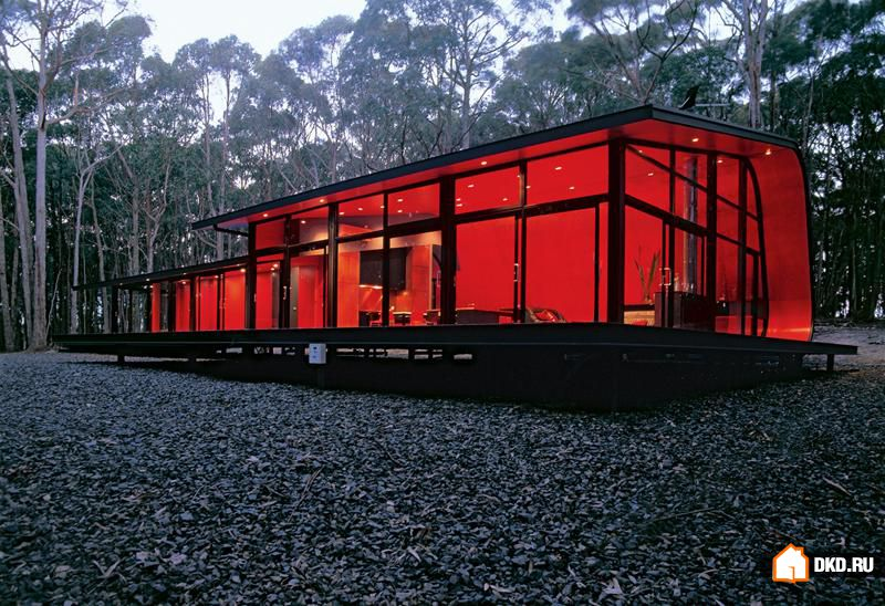 Модный и интересный POD Home от Jesse Judd Architects, Мельбурн, Австралия