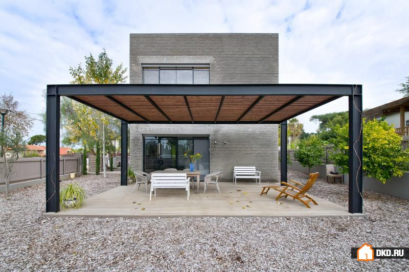Кирпичный дом в минималистическом стиле от Sharon Neuman Architects