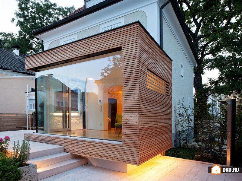 Дизайн пристройка к дому