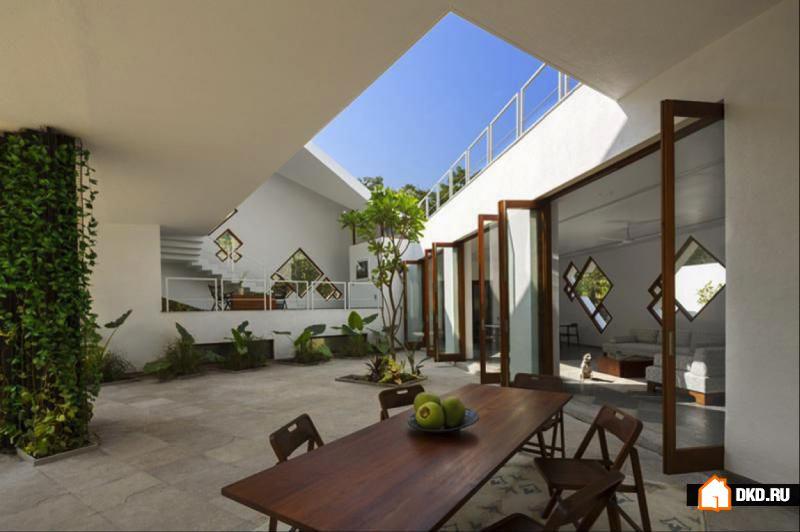Tomoe Villas: новое воплощение традиционной индийской архитектуры
