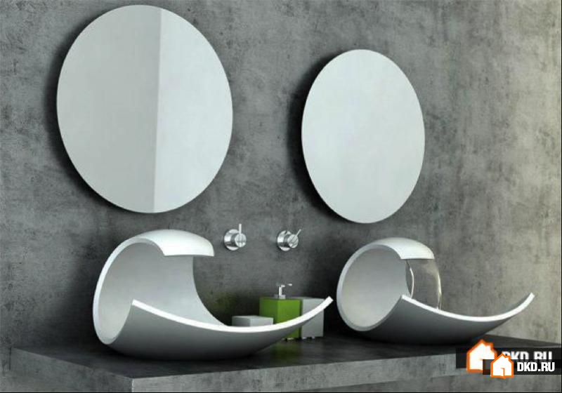 14 Новых креативных идей дизайна раковин в ванной