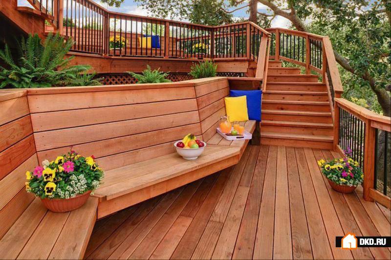 30 Деревянных скамеек для Вашего гостеприимного сада