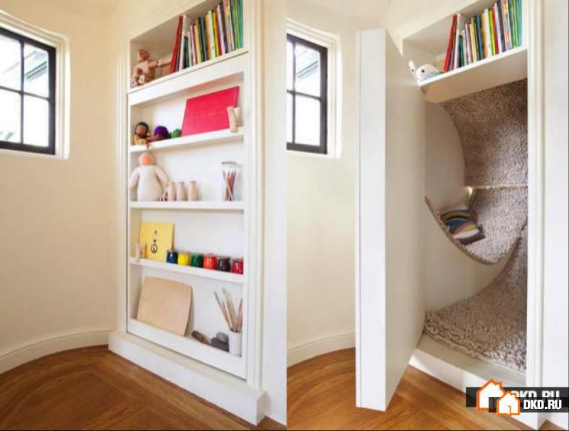 25 Идей дизайна потайной комнаты