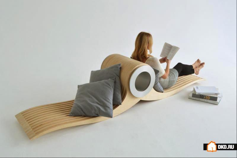 Кресло по имени EXOCET от Стефани Лезерд