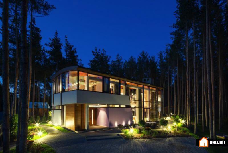 Частная резиденция Villa Estebania в Таллине, Эстония, от Arch-D