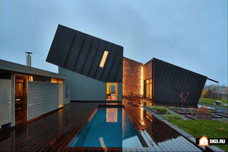Суперкомфортный многофункциональный дом от Snøhetta