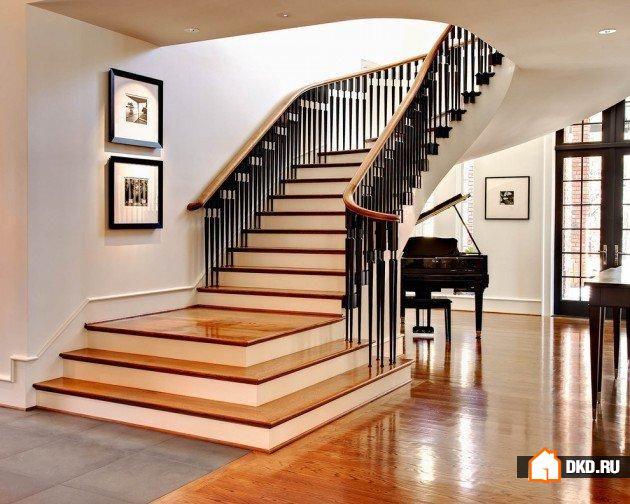 16 Элегантных дизайнов лестниц, которые смогут Вас удивить