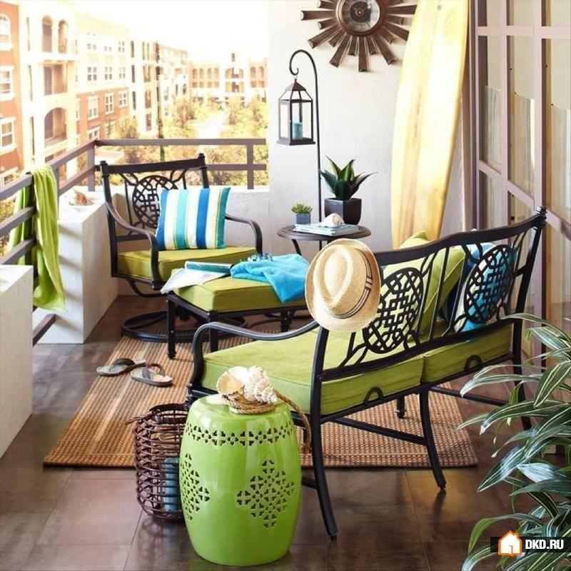 Дизайн балкона: как объединить, превратить в спальню или про.