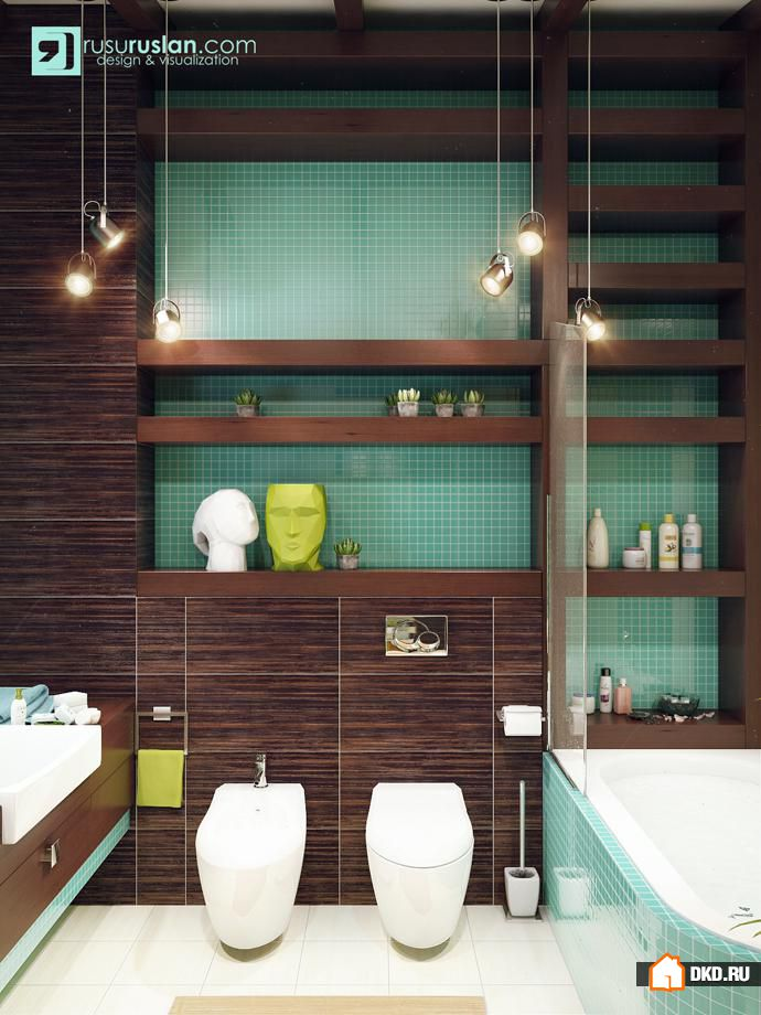 17 Fresh Green Bathroom Design Ideas For Your Private Heaven