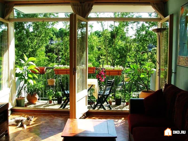 Дизайн лоджий, внутренних двориков и террас.
