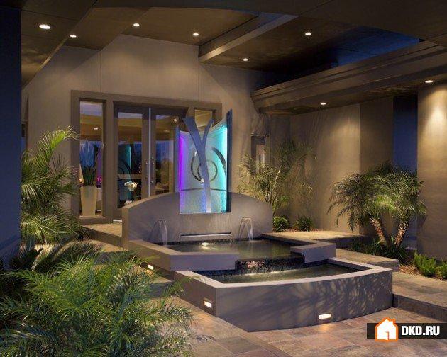 17 Великолепных фонтанов, водопадов и других водных элементов для дома, которые понравятся каждому