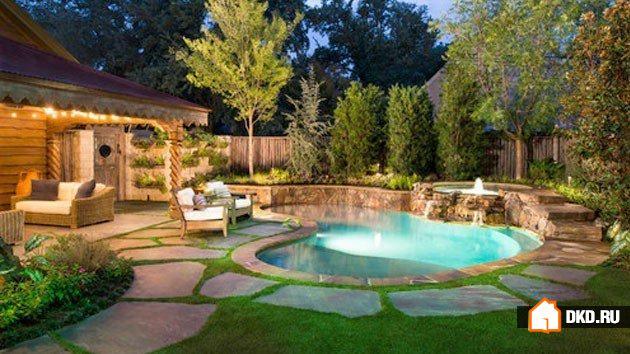 21 Красивый дизайн маленьких бассейнов для большого удовольствия