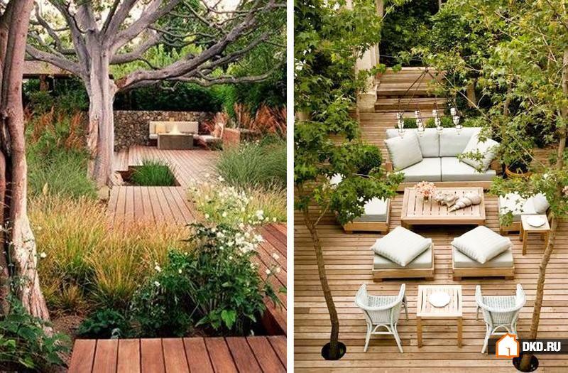 Как украсить Ваш дворик растениями
