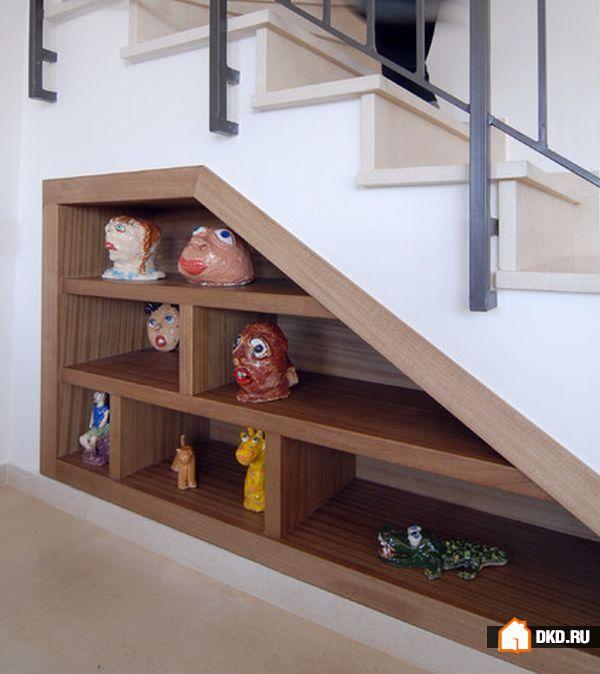 Дизайн лестница своими руками 52