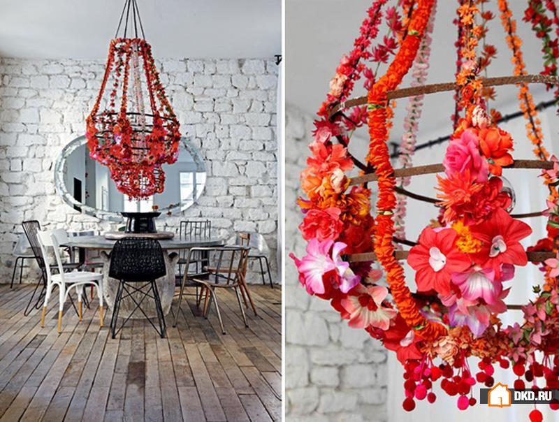 Красочный и необычный интерьер французских апартаментов от Paola Navone