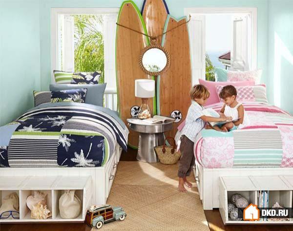 14 Функциональных детских комнаты для разнополых детей