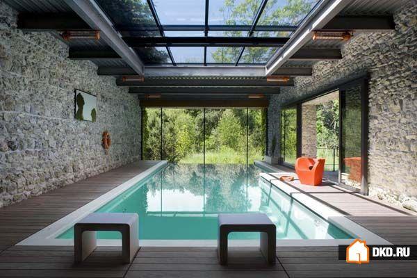 18 Восхитительных закрытых бассейнов, чтобы влюбиться