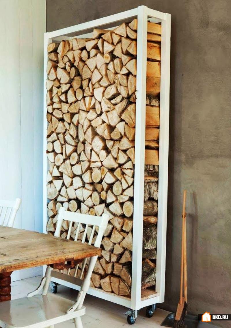 Ящики для дров своими руками