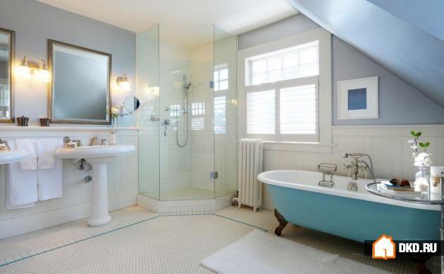 15 Компактных дизайнов угловых душевых кабин для любой ванной