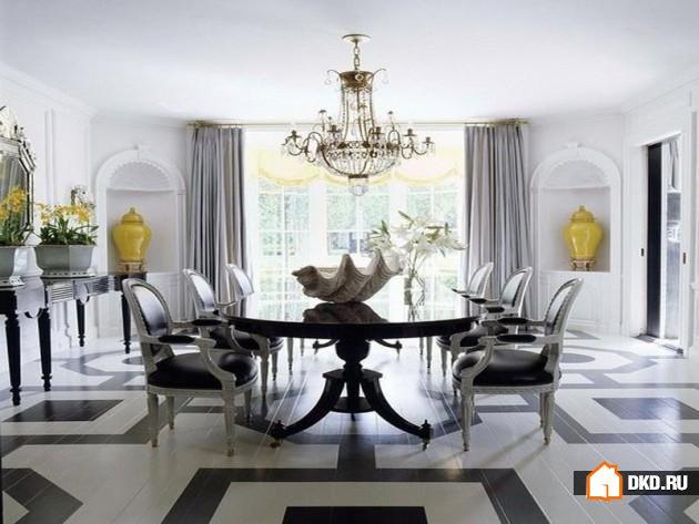 19 Впечатляющих идей для декорирования роскошной столовой
