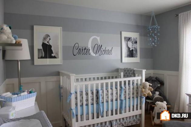 9 Прелестных идей дизайнов детской для новорожденного мальчика