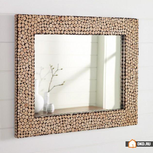 Рама для зеркало своими руками фото