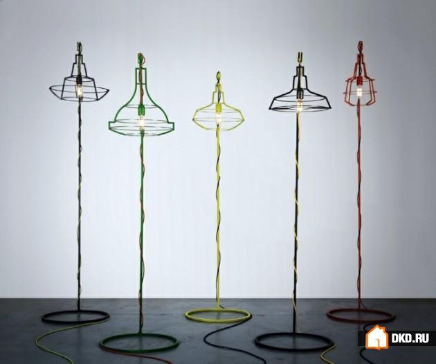 15 Необычных идей дизайнов напольных ламп для Вашего современного дома
