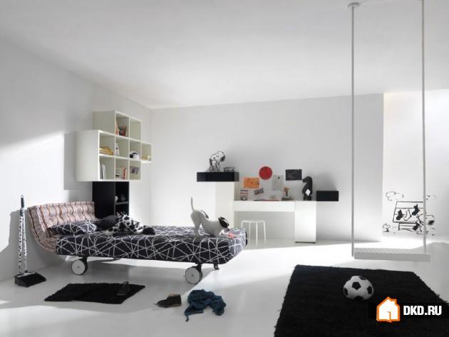 19 Функциональных примеров отделки комнаты для мальчика