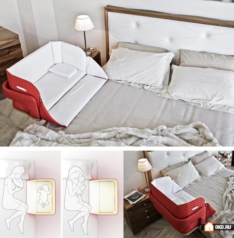 Детская кроватка к кровати