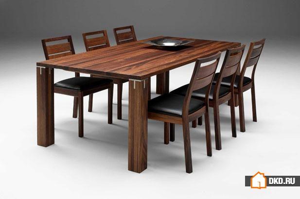16 Очаровательных дизайнов обеденных столов для теплой атмосферы в столовой зоне
