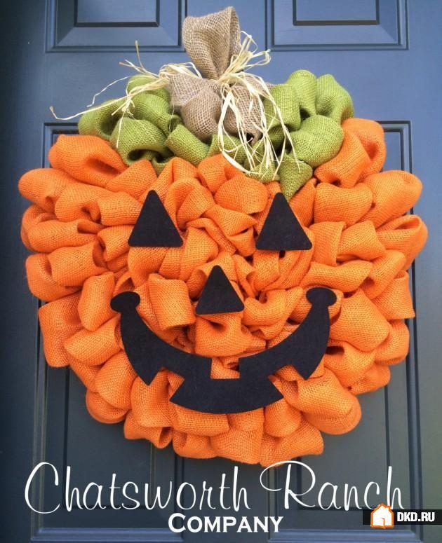 Картинки по запросу 10 устрашающе-прекрасных венков для Хэллоуина