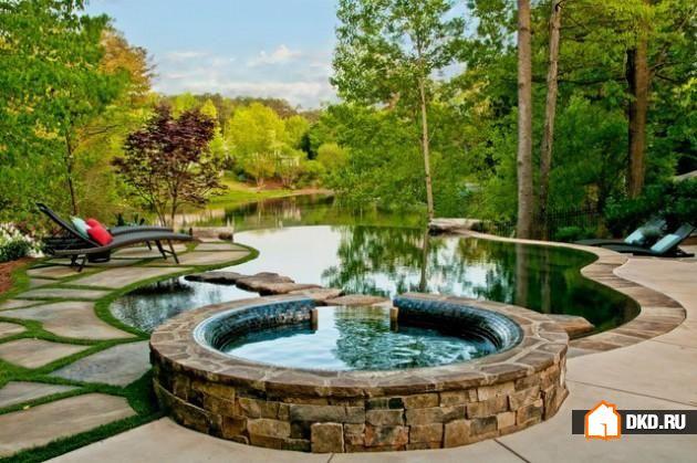 17 Великолепных дизайнов бассейнов в деревенском стиле