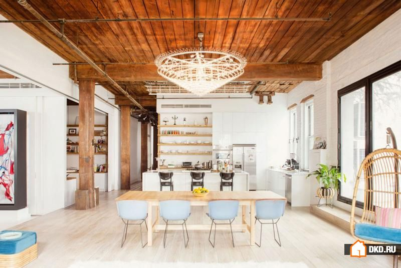 Williamsburg Loft от студии Ensemble Architecture