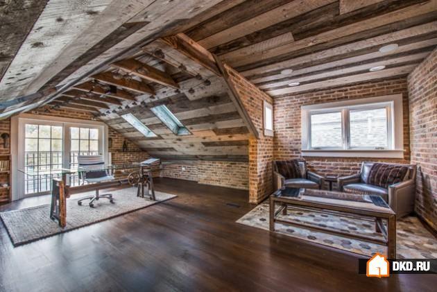 17 Превосходных дизайнов кабинетов в деревенском стиле, которые вдохновят Вас