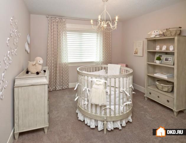 круглые детские кроватки фото