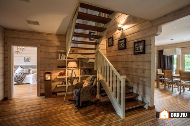 15 Потрясающих деревенских дизайнов лестниц для Вашей мотивации