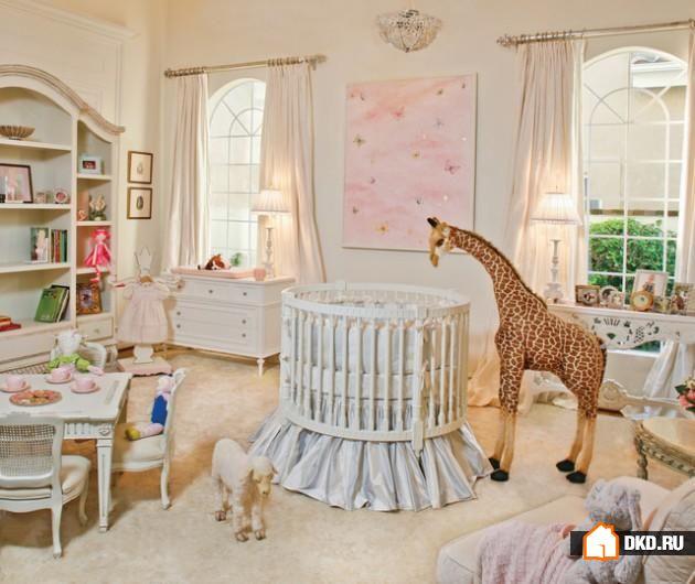 16 Прелестных идей круглых детских кроваток, которые растопят Ваше сердце