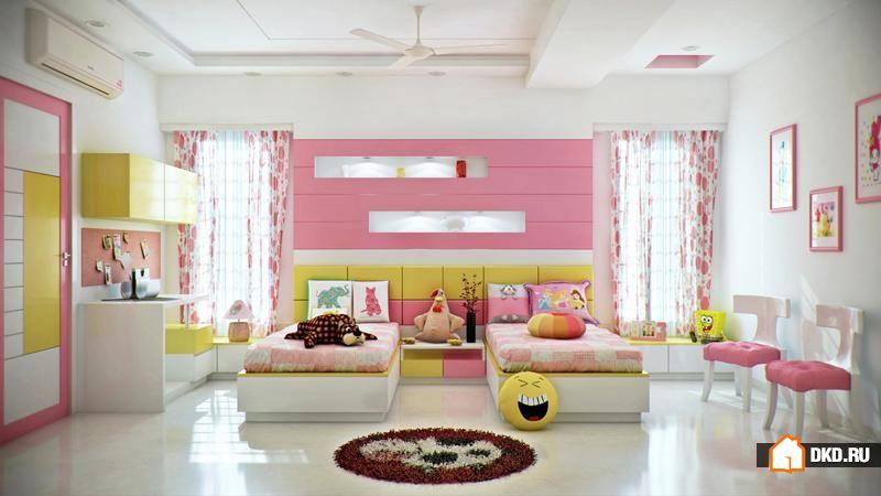 35 Новых и ярких дизайнерских идей детской спальни
